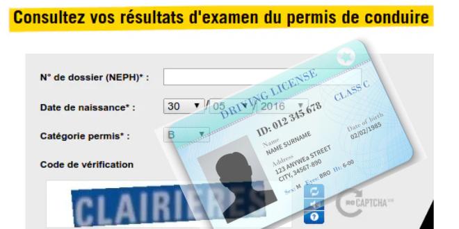 Comment faire pour connaître son résultat de permis de conduire en ligne ?